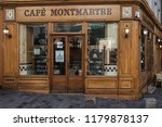 paris  france  october 6  2016  ... | Shutterstock . vector #1179878137