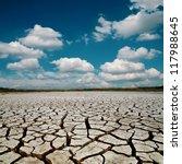 global warming. dramatic sky... | Shutterstock . vector #117988645