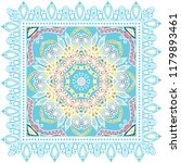 decorative colorful ornament on ...   Shutterstock .eps vector #1179893461