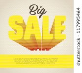 illustration of sale label ... | Shutterstock .eps vector #117995464