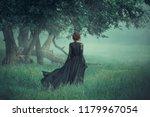 Fantasy Ghost Girl Walk Dark...