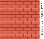 red brick wall seamless pattern ... | Shutterstock .eps vector #1180071967
