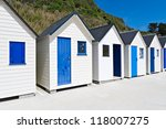 Famous Beach Huts In Trouville...