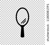 simple hand mirror icon. on... | Shutterstock .eps vector #1180081591