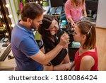 make up teacher helping...   Shutterstock . vector #1180086424
