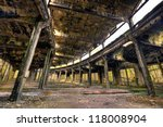 Old Abandoned Train Roundhouse