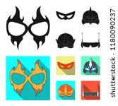 vector illustration of hero and ... | Shutterstock .eps vector #1180090237