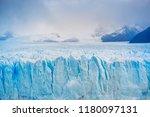perito moreno glacier ... | Shutterstock . vector #1180097131