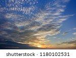 abstract seascape sky... | Shutterstock . vector #1180102531