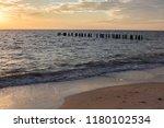abstract seascape sky... | Shutterstock . vector #1180102534