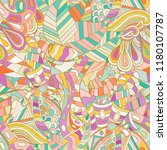 tracery seamless pattern.... | Shutterstock .eps vector #1180107787
