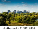 strogino district of moscow ... | Shutterstock . vector #1180119304