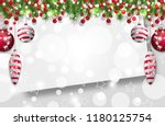 christmas background  new year... | Shutterstock .eps vector #1180125754