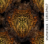 seamless pattern   exquisite... | Shutterstock .eps vector #1180139617