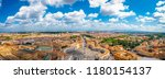 aerial panorama of st. peter's... | Shutterstock . vector #1180154137