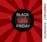 black friday modern banner.... | Shutterstock .eps vector #1180168834