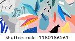 creative art header with... | Shutterstock .eps vector #1180186561