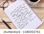 thank you gratitude words... | Shutterstock . vector #1180202761