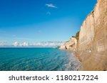 corfu island  greece  ionian...   Shutterstock . vector #1180217224
