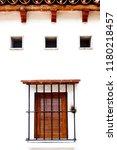 windows in mexico city | Shutterstock . vector #1180218457