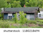 Abandoned railway depot in Southern Wisconsin. City of Juda, WI Milwaukee Road station fallen onto hard times.