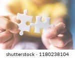 strategic management and... | Shutterstock . vector #1180238104