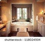 bathroom interior architecture... | Shutterstock . vector #118024504