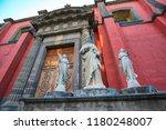 mexico city central zocalo... | Shutterstock . vector #1180248007