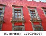 mexico city central zocalo... | Shutterstock . vector #1180248094