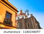 mexico city central zocalo... | Shutterstock . vector #1180248097