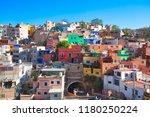 guanajuato  mexico  scenic old... | Shutterstock . vector #1180250224
