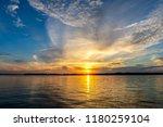 Beautiful Oklahoma Lake Sunset.