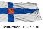 military finland flag  isolated ... | Shutterstock . vector #1180274281