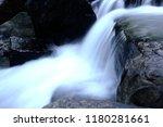 beautiful stream in nature park ... | Shutterstock . vector #1180281661