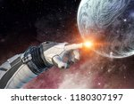 touching the uniqueness. mixed... | Shutterstock . vector #1180307197