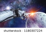 touching the uniqueness. mixed... | Shutterstock . vector #1180307224
