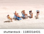 group of miniature people... | Shutterstock . vector #1180316431