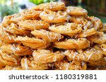 roti canai  roti fried indian... | Shutterstock . vector #1180319881