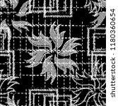 seamless pattern patchwork... | Shutterstock . vector #1180360654