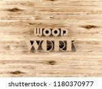 wooden background with text of...   Shutterstock . vector #1180370977