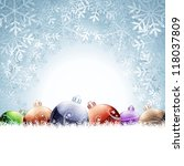 christmas card | Shutterstock . vector #118037809