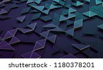 abstract 3d rendering of... | Shutterstock . vector #1180378201