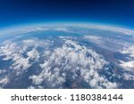 curvature of planet earth.... | Shutterstock . vector #1180384144