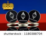 physical version of ethereum ... | Shutterstock . vector #1180388704