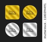 iron gold and silver metallic...
