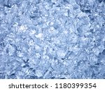 close up of ice | Shutterstock . vector #1180399354