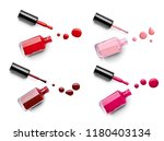 close up of  a nail polish... | Shutterstock . vector #1180403134