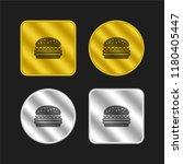 hamburger gold and silver...