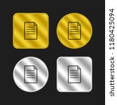 text document gold and silver...
