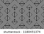 seamless pattern with striped... | Shutterstock .eps vector #1180451374